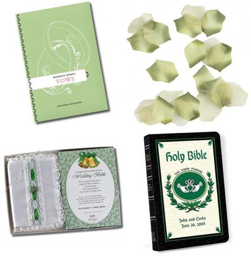 Second Row Wedding Bible with cover Irish Wedding Bible