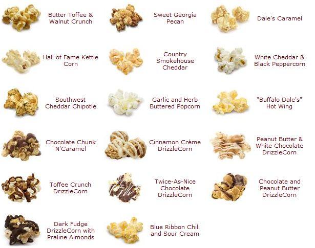 Ncg popcorn nutrition